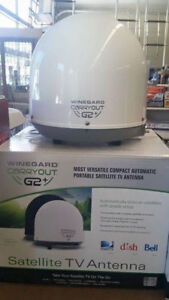 Winegard GM-6000 Carryout G2+ White Automatic Portable Satellite