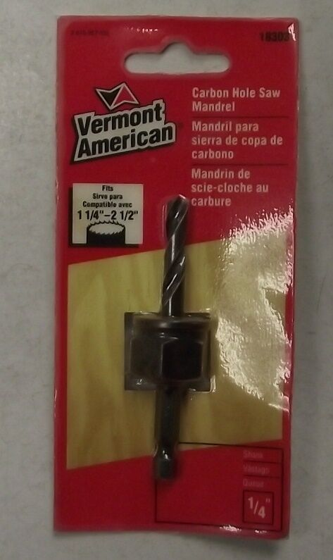 """1//2/"""" and 3//4/"""" NEW Vermont American countersink bits various sizes"""