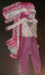 25mrx de pyjamas/vêtements enfant 5T