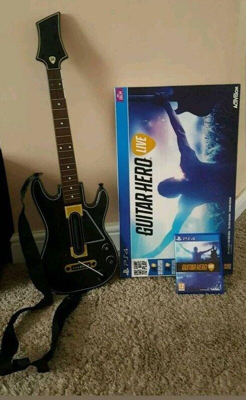 PS4 Guitar Hero Live