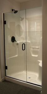 Glass Shower Doors 41.5""