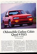 1989 Oldsmobile Cutlass Calais