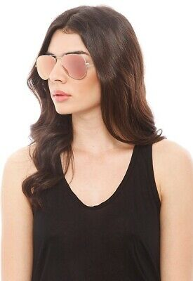 New Ray Ban Sunglasses Fashion Aviator RB3025 019/Z2 Silver Pink Flash Lenses Brown Silver Flash Lens