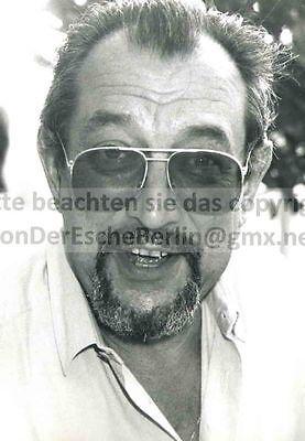 Regisseur Ekkehard BÖHMER - OriginalFoto VINTAGE  STARFOTOGRAF: Ingo BARTH