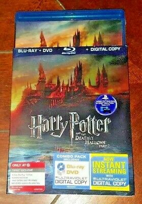 Harry Potter & the Deathly Hallows Part 2 (Blu-ray/DVD, Target Exclusive, 2011)