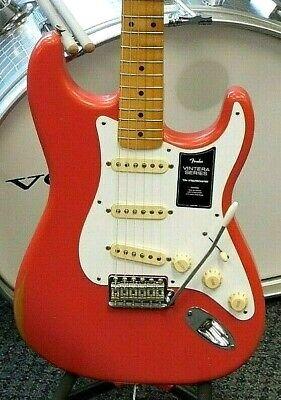 2021 Fender Vintera Road Worn 50s Stratocaster Electric Guitar! NICE! NO RESERVE