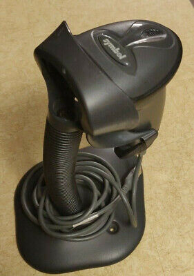 Symbol Barcode Scanner Ls2008 - Usb Corded Handheld Ls2008 6 Cable Stand