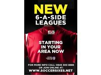 Join your local Dunstable Monday 6aside league today!!