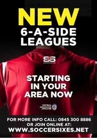Join your local Widnes Monday 6aside league today!!