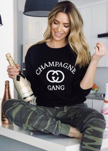 Champagne CG logo Sweatshirt Designer Crewneck Sweater Parod