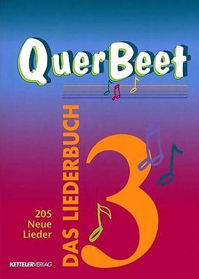 Quer Beet 3 - Das Liederbuch - Lieder für Gitarre - Songbuch