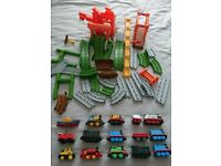 Thomas and his friends track set and trains bundle