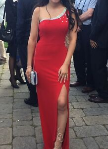 PROM DRESS - RED - CONTACT FOR PRICES