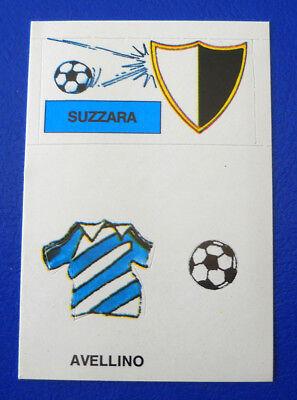 FIGURINA EUROFLASH CALCIO 1988 - SCUDETTO/MAGLIA SUZZARA/AVELLINO - new image