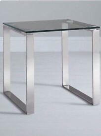 John Lewis Glass Lamp Table