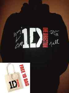 ONE-DIRECTION-OFFICIAL-LOGO-SIGNED-HOODIE-LTD-EDITION-BLACK