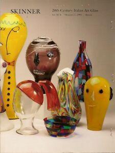 SKINNER-20C-Italian-Glass-Barovier-Chihuly-Cenedese-Murano-Venini-Toso-Catalog