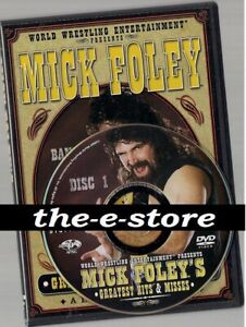 WWE-WWF - DVD - Mick Foley's - Greatest Hits & Misses.
