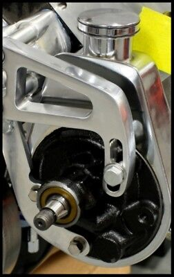 GM CHROME POWER STEERING PUMP A CAN STYLE S 3913