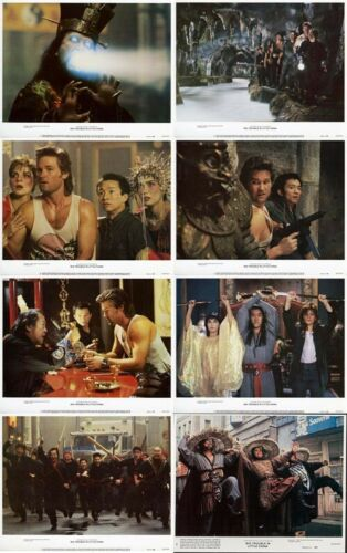BIG TROUBLE IN LITTLE CHINA Lobby Cards (1986) Set of 8 LIMITED OFFER!!