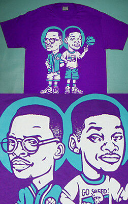 Fresh Prince of Bel Air Jazz shirt  purple aqua Cajmear v  Air Purple Tee