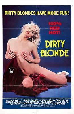 DIRTY BLONDE Movie POSTER 27x40 - Dirty Blonde Movie