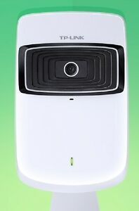 TP-LINK NC200 Cloud Camera, 300Mbps Wi-Fi - White