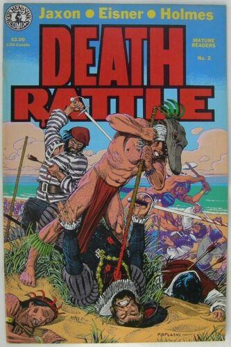 Death Rattle #2 from Kitchen Sink 1986