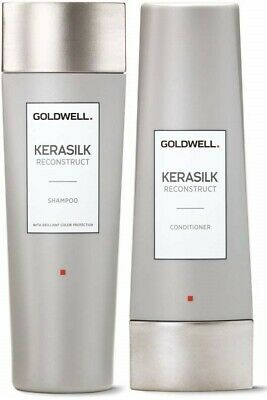 Kit Shampoo + Conditioner Goldwell Kerasilk Reconstruct Capelli Danneggiati