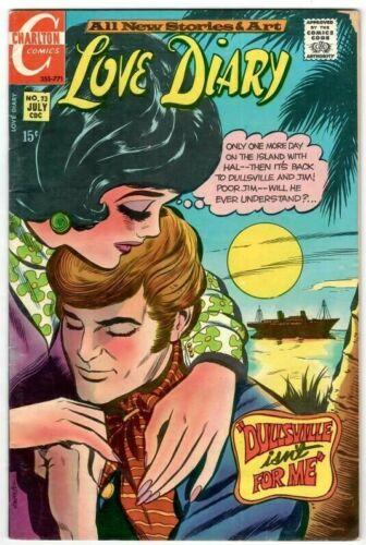 Love Diary No.73 Charlton Bronze-Age 20 Cent Romance Comic July 1971