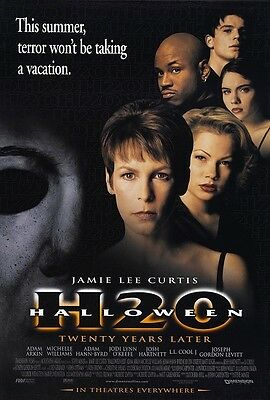 Halloween movie poster H20 poster : 11 x 17 inches : Jamie Lee Curtis poster - Halloween H20 Jamie Lee Curtis