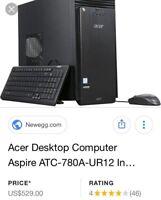 Acer Aspire TC-710 + Razer Mamba tournament edition gaming mouse