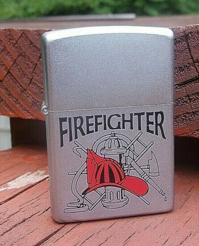 Zippo Lighter - Firefighter - 2001 - New