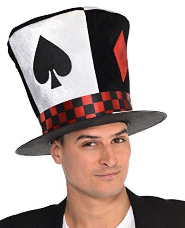Poker Ace Top Hat NWT Halloween Cosplay