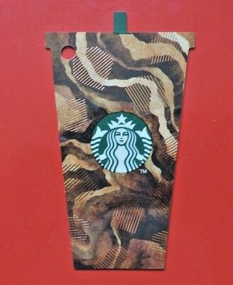 STARBUCKS UK 2017 MINI FRAP ICED COFFEE CARD NO VALUE COLLECTORS ITEM