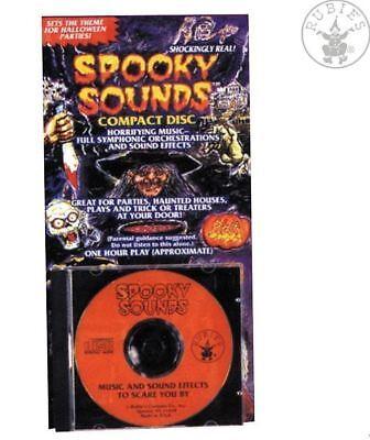 SPOOKY SOUNDS~HALLOWEEN GRUSEL-Effekte HORROR Geräusche MUSIK~CD Wolfsgeheule (Halloween Horror Sounds Effekte)