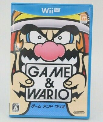 Game & Wario Nintendo Wii U CIB Complete Japan Import NA Seller