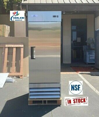 Commercial Reach In One Single Door Upright Freezer Kitchen New 1 Nsf Etl
