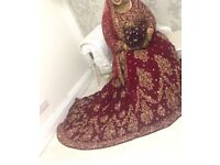 Asian wedding dress for sale