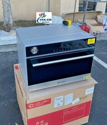 New Electric Steam Oven Vapor Counter Top Oven Commercial Food Steamer 21x18x16