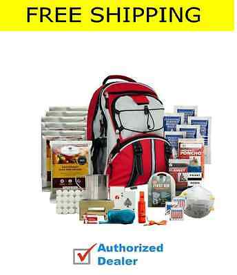 New Wise Food~ 5 Day Survival Back Pack Bug Out Bag Emergency Food ~RED Kit