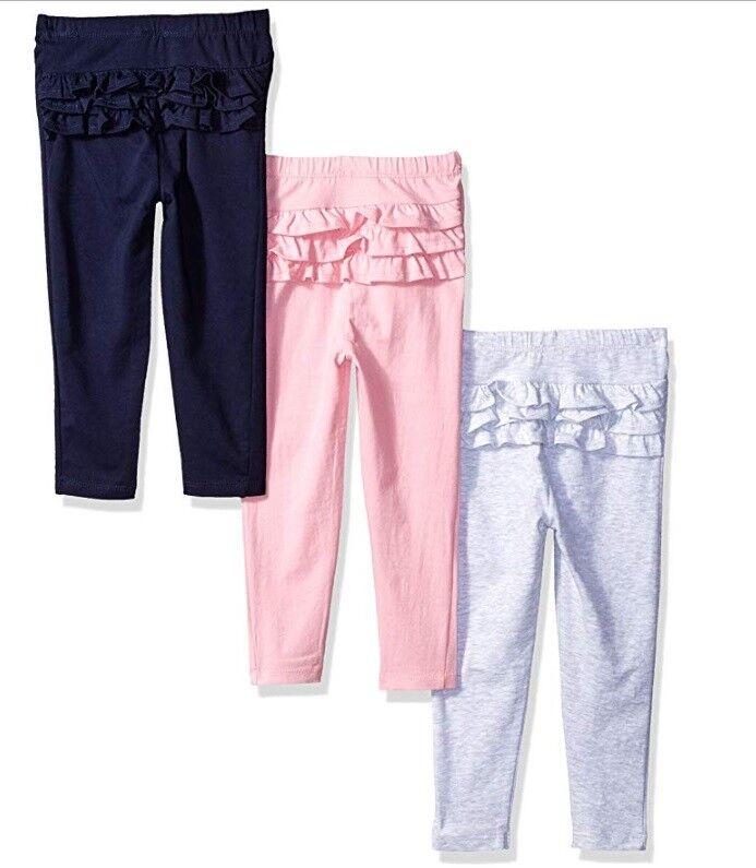 leggings toddler girls pants long ruffle legging