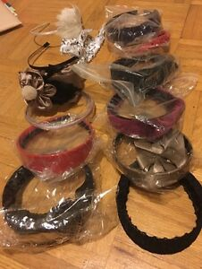 12 brand new hair band lot, Italian design