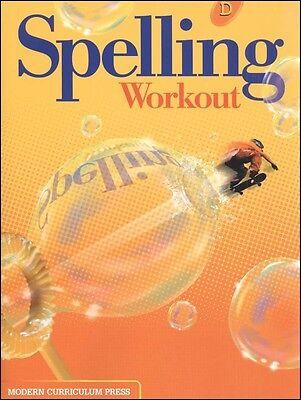 Modern Curriculum - Spelling Workout D Student Workbook (2002) 4th Grade