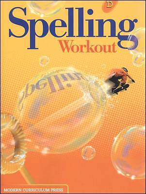 Grade 4 MCP Spelling Workout Level D Student Book 4th Modern Curriculum Press