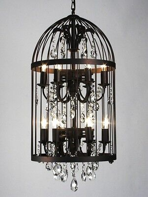 ZENTIQUE Vintage Large New Birdcage Chandelier, BC08 12 50