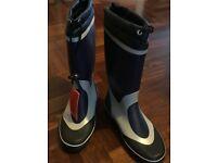 Sailing boots!