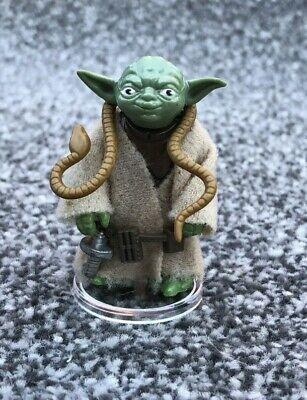 Vintage 1980 Star Wars Yoda Figure with Brown Snake & Belt  100% Original