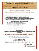 WOOD MANUFACTURING PROGRAM - PAID PLACEMENT