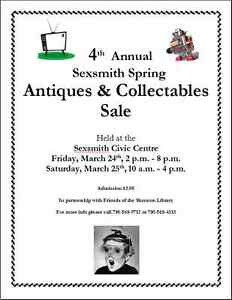 4th Annual Sexsmith Spring Antique and Collectable Sale
